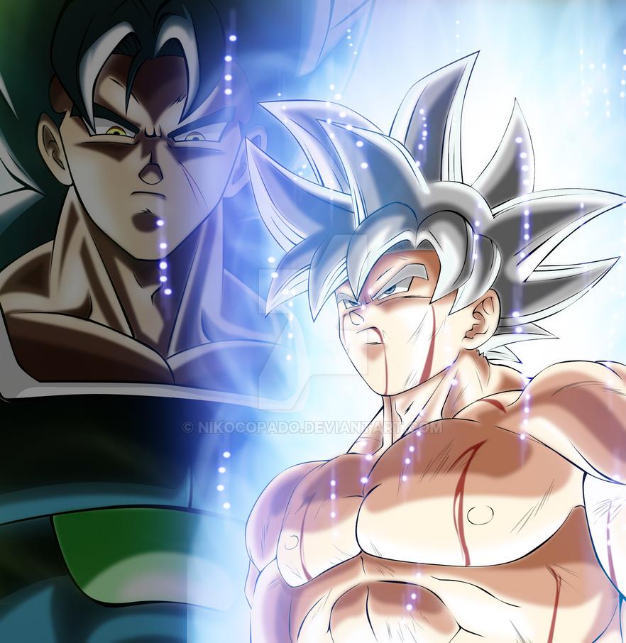Goku vs Yamoshi - Color by nikocopado
