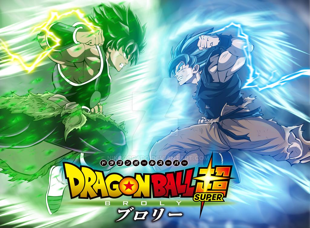 Broly vs Goku by nikocopado