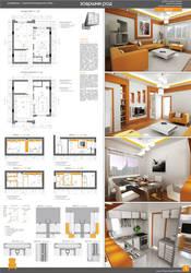 interior design by markozeka