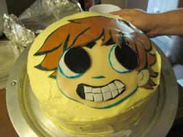 Scott Pilgrim Cake by charlando
