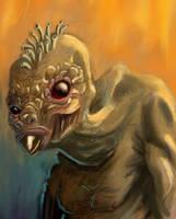 Naked Mugwump by charlando