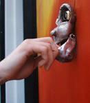 the Door--Exterior detail