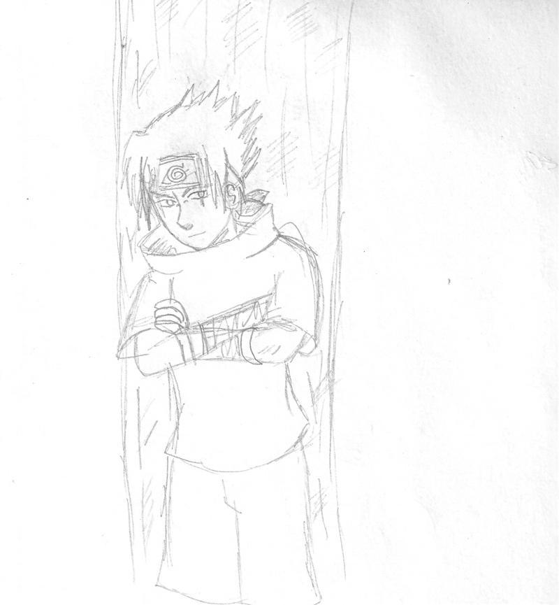 M J Sketch Images Emo Sasuke Sketch by s...