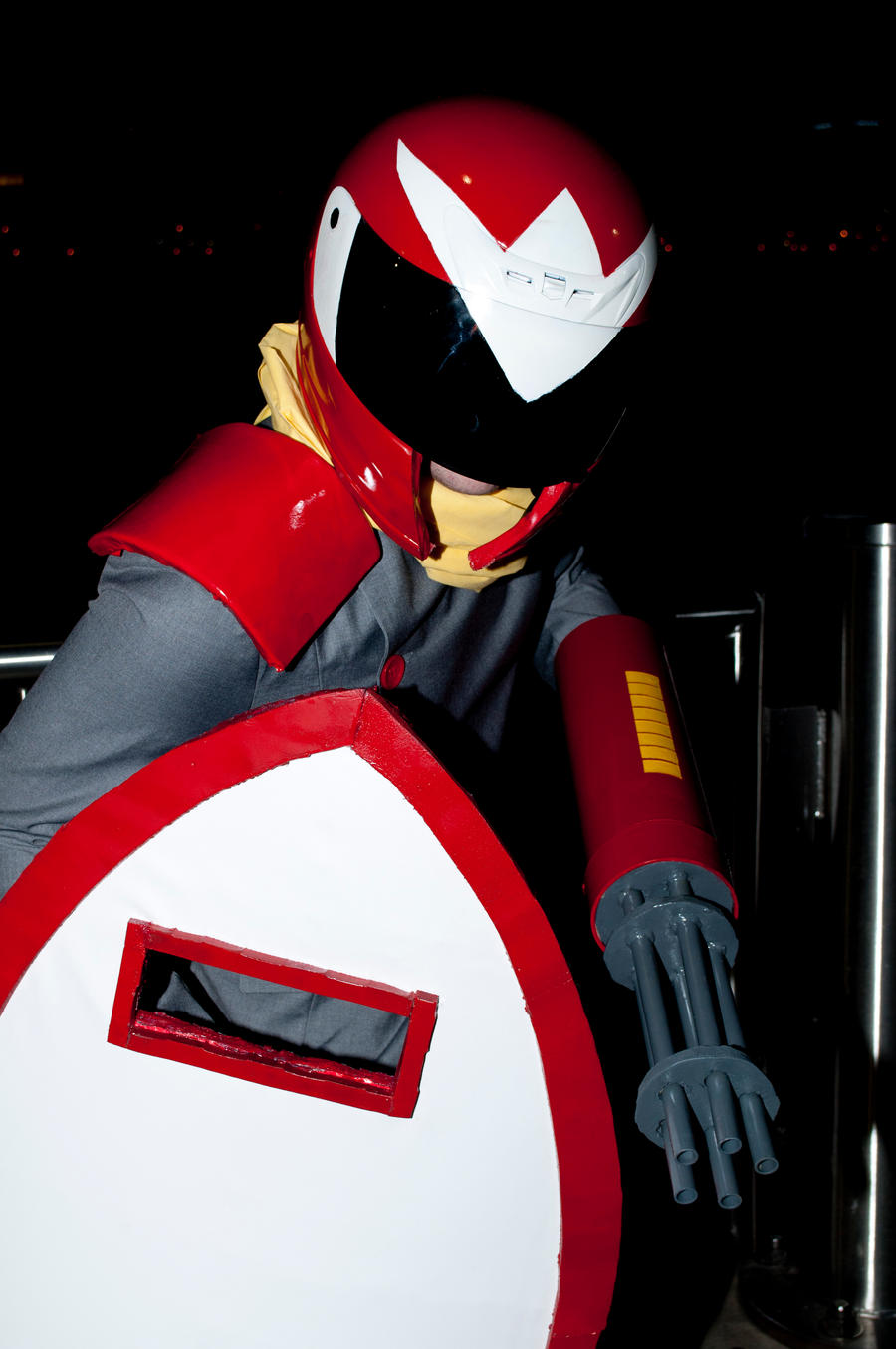 youmacon 2012 protoman 2 by superjacqui