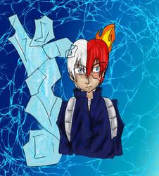 My hero academia Todoroki