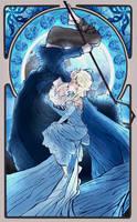 +Jelsa+ Frost Queen by Cogitae