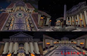 Minecraft- Roman Forum by X-Luminare-X