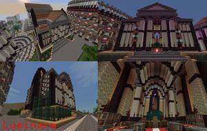 Minecraft- Roman Great Library by X-Luminare-X
