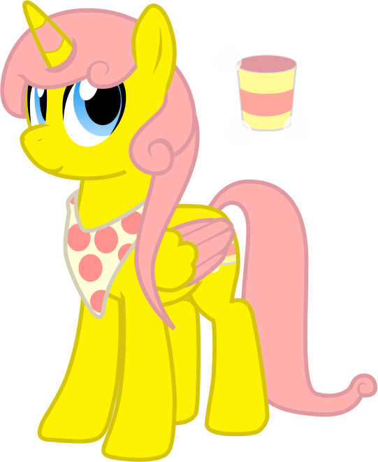 28th Free MLP Request - Pink Lemonade Swirl by Chumi-chan