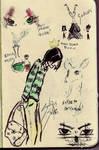 Snape doodles