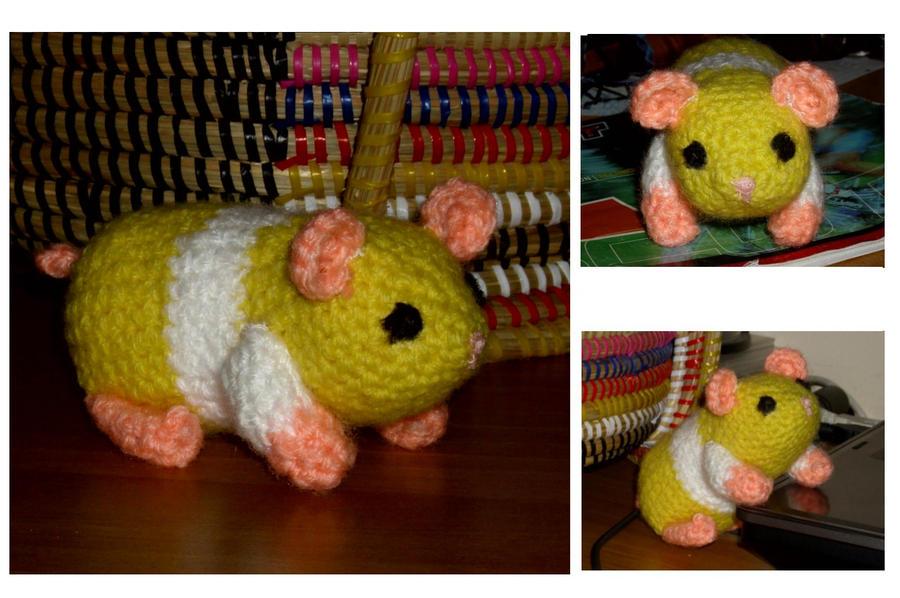 Frida Kahlo Amigurumi Free Pattern : Amigurumi Hamster by AppleGrayWolf on DeviantArt