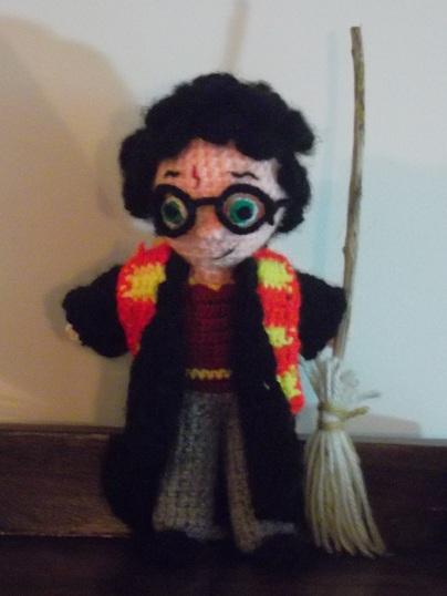 Amigurumi Human Pattern Free : Harry Potter amigurumi by AppleGrayWolf on DeviantArt