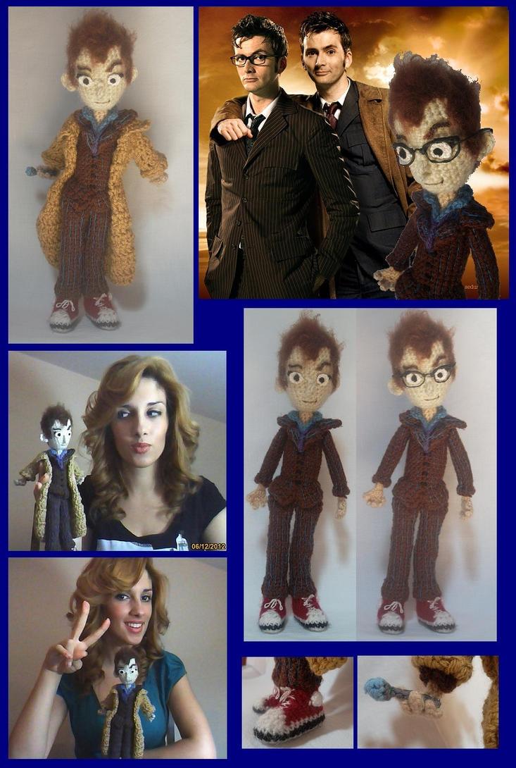 Tenth Doctor Amigurumi by AppleGrayWolf