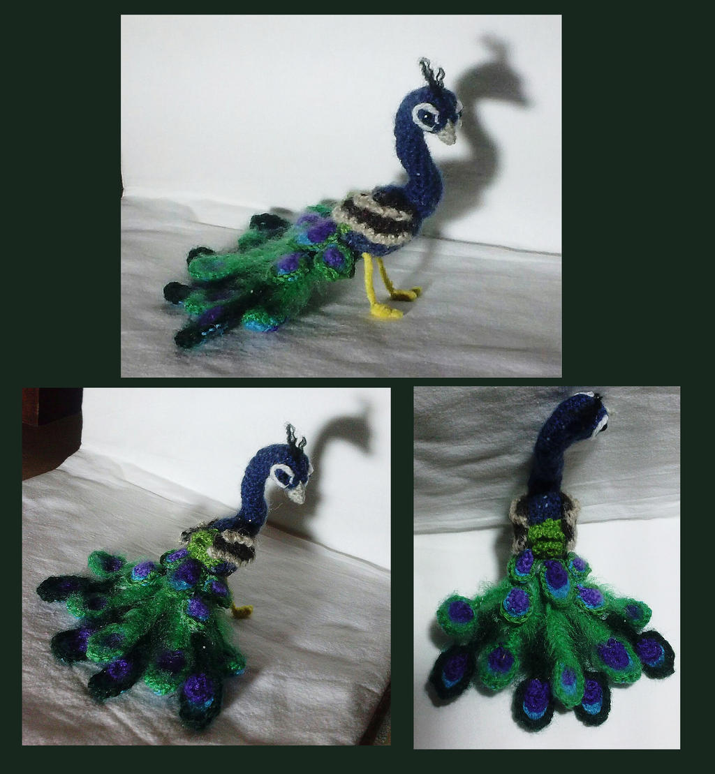 Amigurumi Star Wars De Ganchillo : Peacock Amigurumi by AppleGrayWolf on DeviantArt
