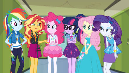 Fluttershy and Friends don't look so sure