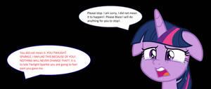 It is Your Fault Twilight Sparkle.