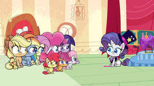 MLP Pony Life Rarity Magic Show and CMC