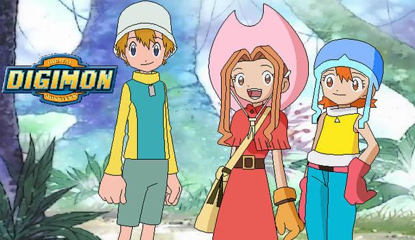 Digimon AU The Adventure Begins