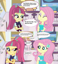 Sour Sweet's Challenge to Fluttershy