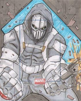 Marvel Universe AP Taskmaster