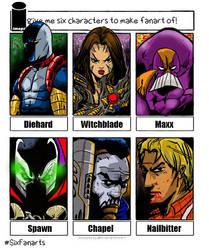Image Comics Six