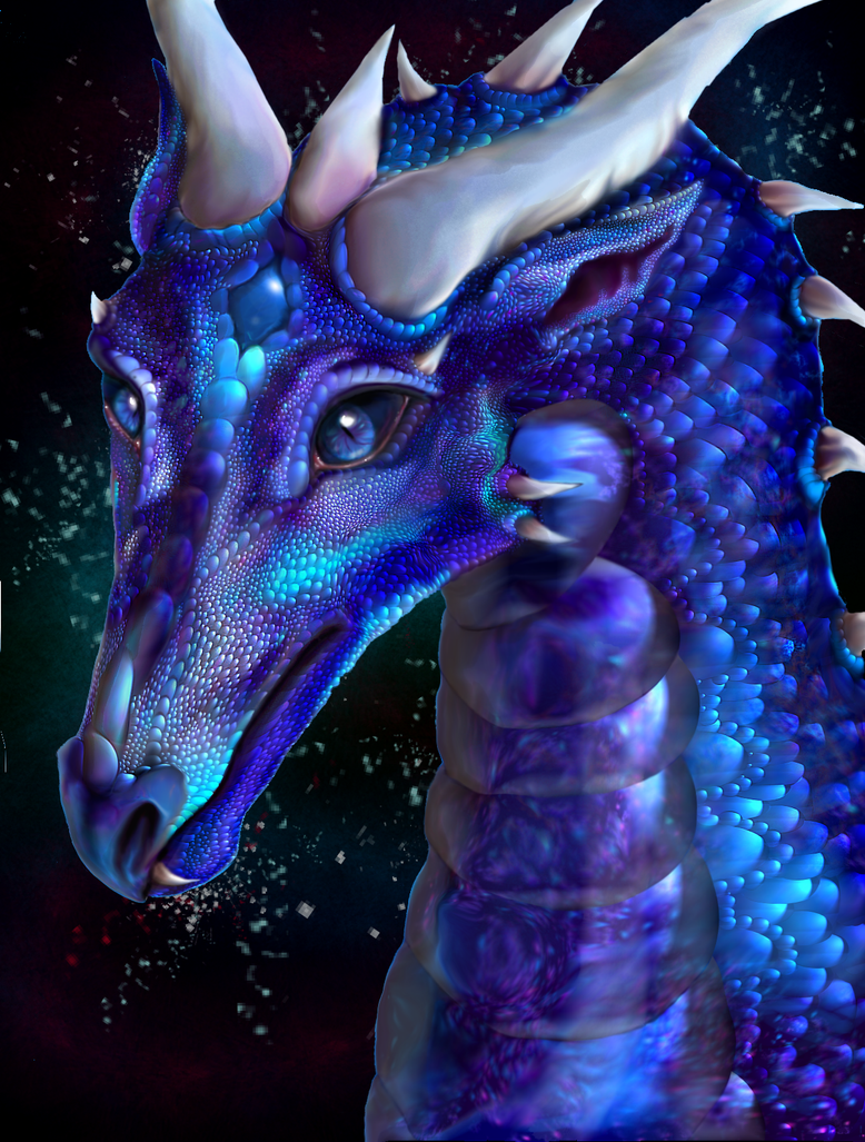 Detailed Saphira by KuragariOkami
