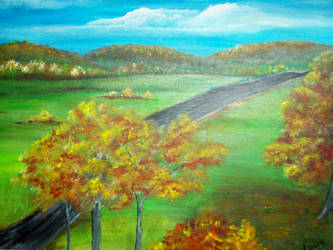 Fall in the Blue Ridge by Amadeb