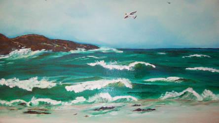 Seabirds by Amadeb