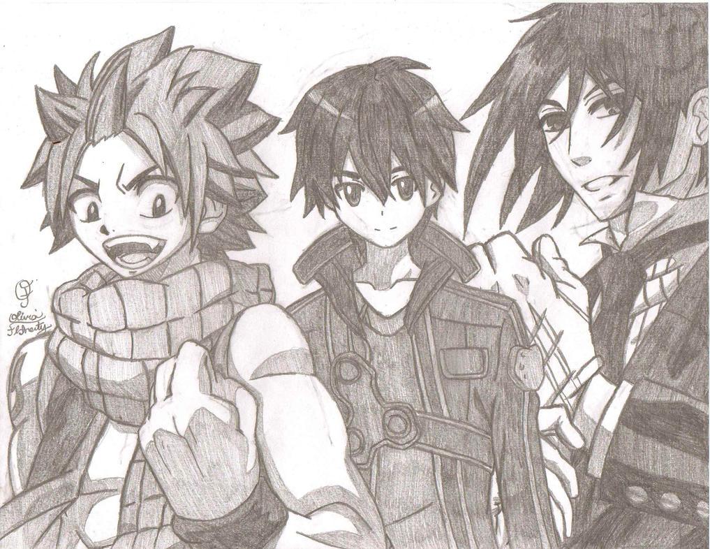 Anime Mash Up III By AnimePortraits