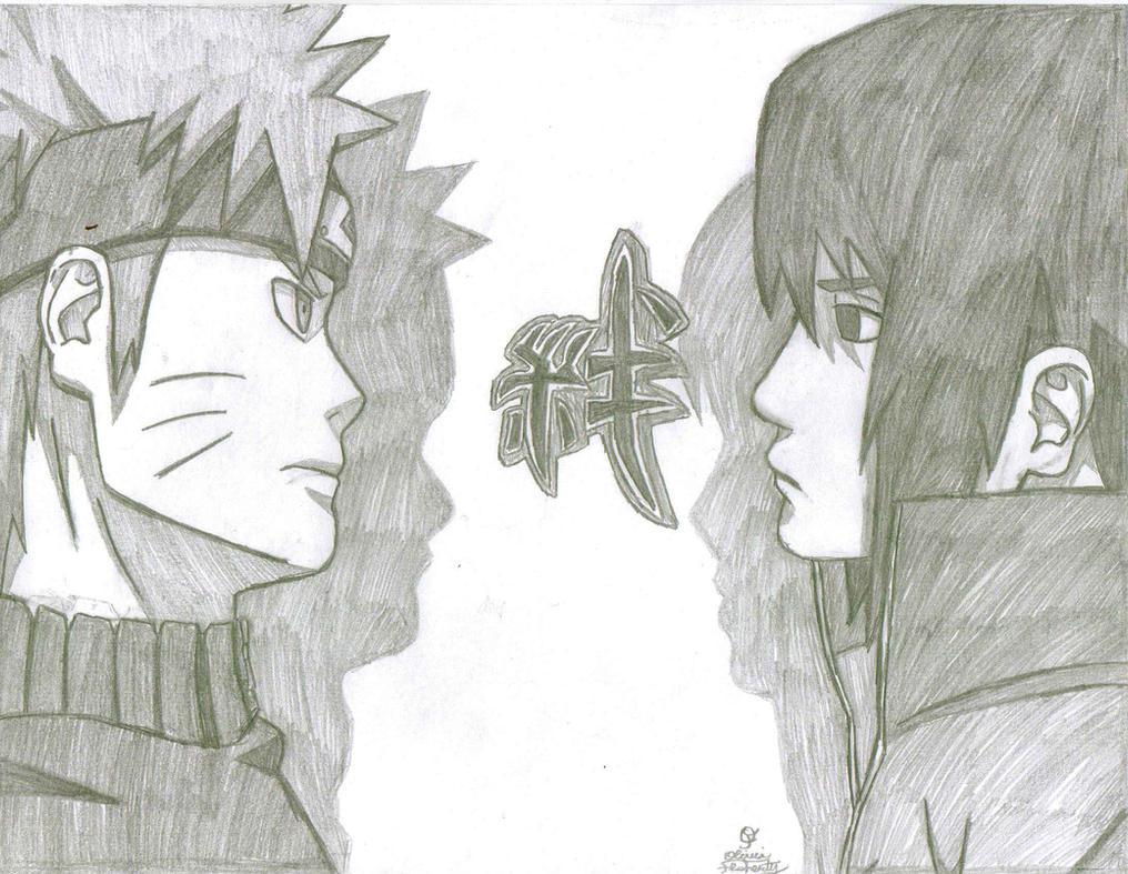 Sasuke vs naruto drawings in pencil more information modni auto