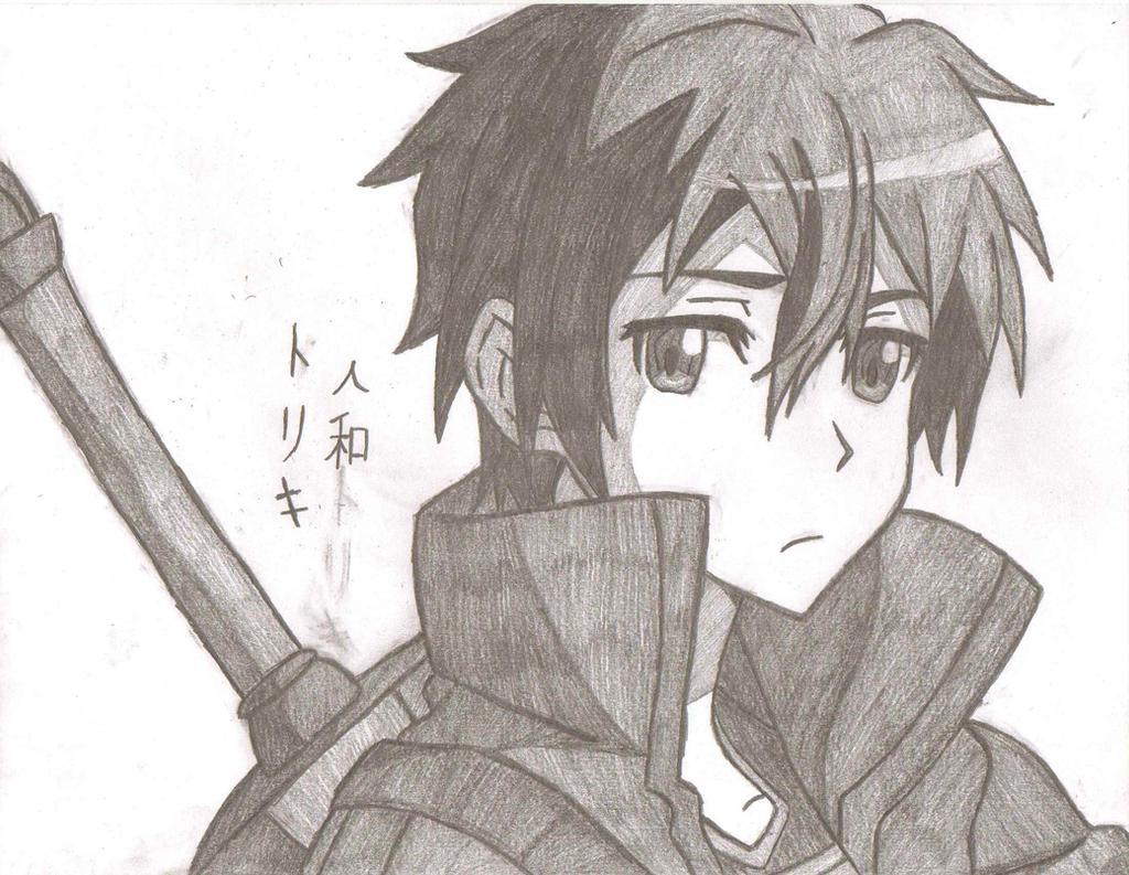 Kirigaya Kirito Kazuto By Animeportraits On Deviantart