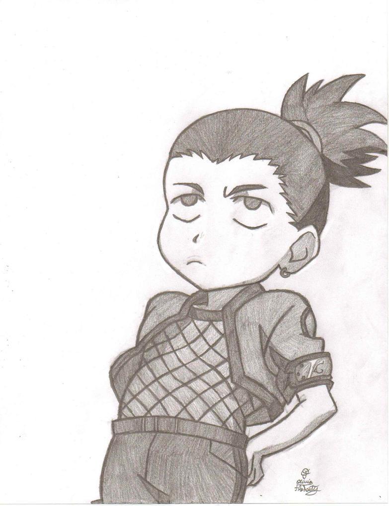 Related Keywords & Suggestions for shikamaru drawings