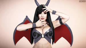 Jessica Nigri Shiny Charizard by Mysterious-Master-X