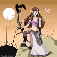 Princess Zelda by Soma011 by soma011