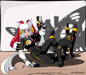 Cosplay time: Bayonetta. by soma011