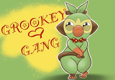 Grookey Gang By Saltysnailkween On Deviantart Join pizza face, rocky, gooey and the rest of the gang as they putrid power up to fight the evil clean. deviantart