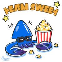Splatoon 2 - Splatfest Popcorn - Team sweet by Stellabluegirl