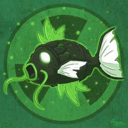 Pokemon Uranium - Nuclear Magikarp by Stellabluegirl