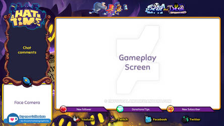 Simulation Overlay Template - A Hat in Time by Stellabluegirl