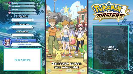 Pokemon Masters - Overlay layout sample