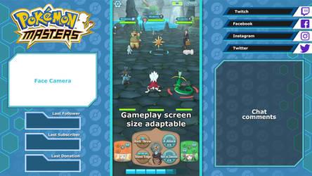 Pokemon Masters - Overlay layout sample 2