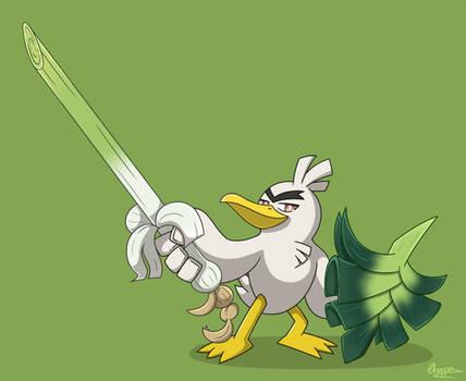 Sirfetch'd - Pokemon Sword Fanart -