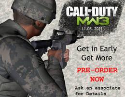 MW3 Mini Poster