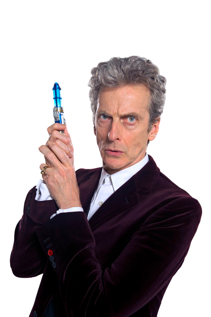 12th doctor with new sonic screwdriver render 2 by