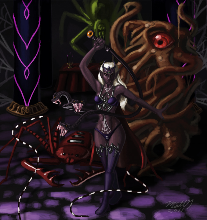 Servants of Lolth by Liamythesh on DeviantArt