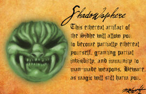 Heretic Artifacts: Shadowsphere