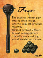 Heretic Weapons: Firemace