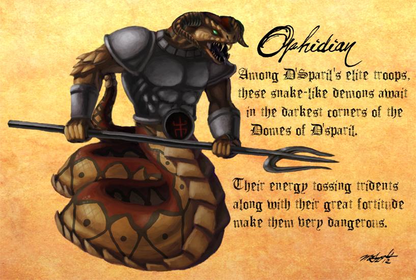 Rolea tu imperio - Expansión - LA PROFECÍA - Página 5 Heretic_monsters__ophidian_by_liamythesh-d4x8ak0