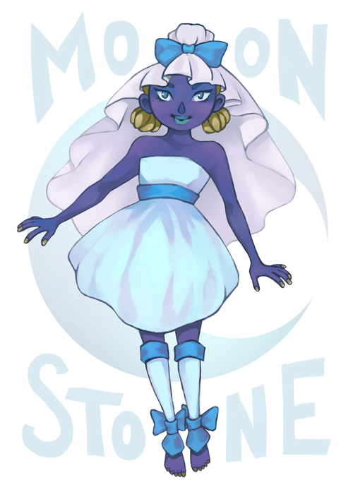 Gemsona - Moon Stone by Nomimo