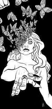 Inktober- Butterfly